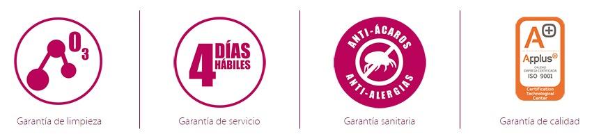 Nuestras garantias ServiAlf