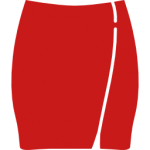 skirt-with-white-lining
