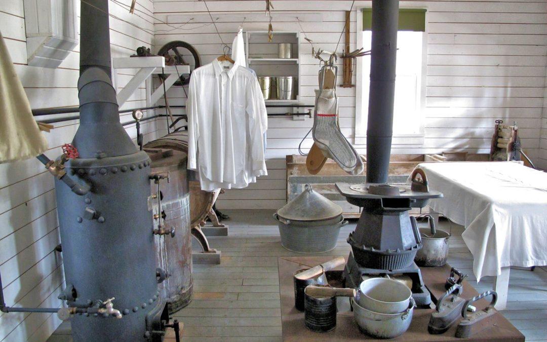 La historia de las lavanderías
